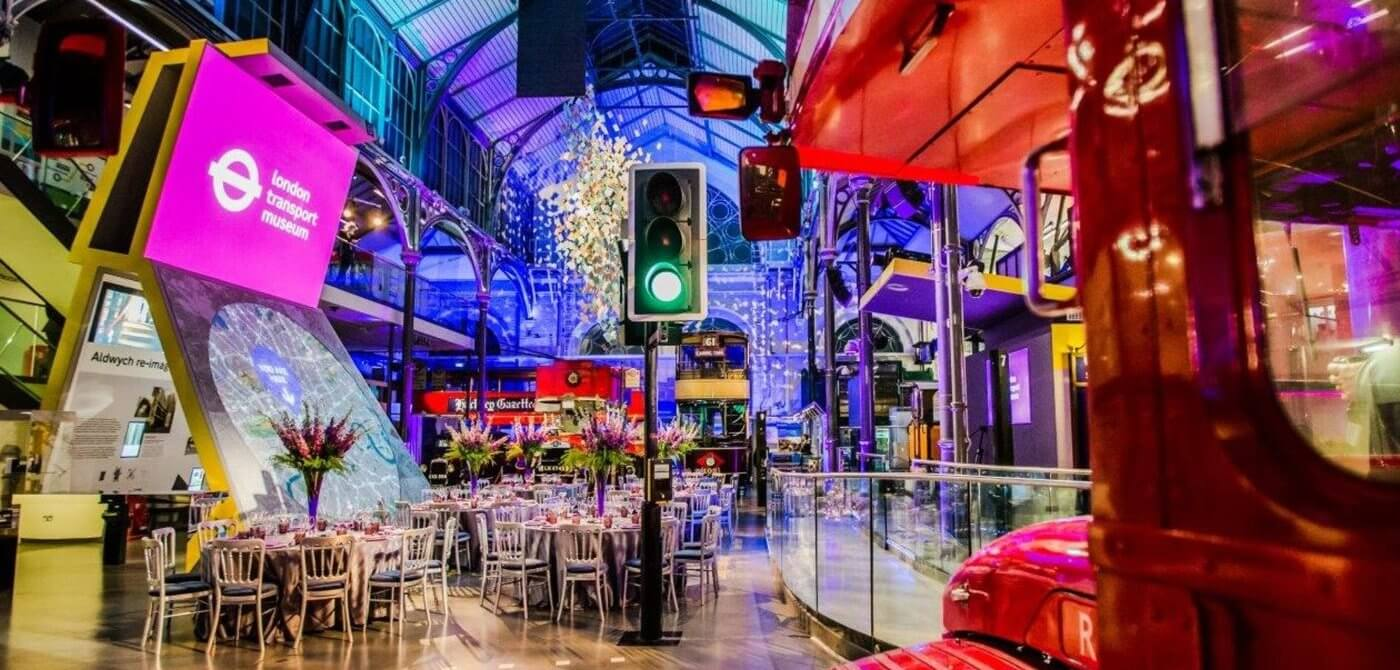London Transport Museum venue hire