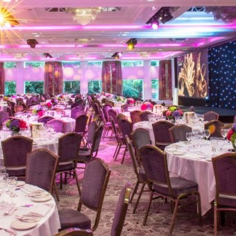 Nine Kings venue space at the Royal Lancaster London