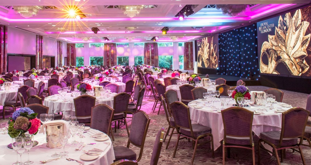 Nine Kings venue space at the Royal Lancaster London