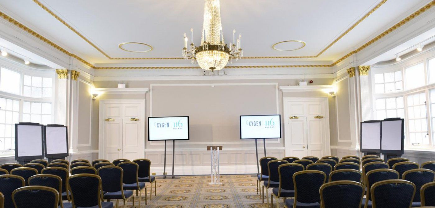 Conferences at 116 Pall Mall